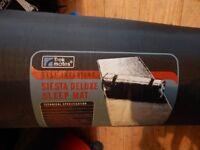 2 x Trek mates self-inflating Siesta deluxe sleep mats - black