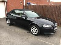 Audi A3 cabriolet 1.9 TDI Diesel- black convertible