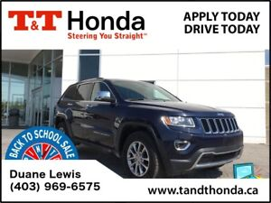 2016 Jeep Grand Cherokee Limited*Rear Camera, Heated Seats*