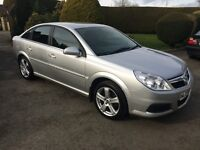 VAUXHALL VECTRA 1.9 CDTI EXCLUSIVE, 2007, SERVICE HISTORY, FULL YEARS MOT, TOW BAR