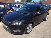 2009/09 FORD FOCUS 1.6 TDCI DPF TITANIUM,METALLIC BLACK,GREAT SPEC,£30 ROAD TAX,LOOKS+ DRIVES WELL