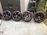 F type jaguar wheels and tyres