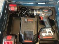 Bosch GSB 18 VE-2-LI Heavy Duty Combi Drill inc 3 x 4Ah Batts & L-BOXX