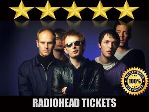 Radiohead Tickets | Last Minute Delivery Guaranteed!