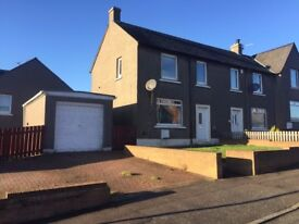 2 bedroom semi detached house with a garage in Broxburn