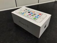 iPhone 5s, 16GB, silver for sale.