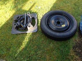 Ford Focus spare wheel kit
