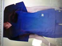 Grape coloured tunic/scrub top