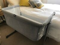 Chicco Next2me side sleeping cot - Dove grey