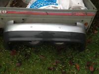 Audi A4 b6 rear bumper