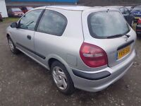 NISSAN ALMERA 1.5 ( ANY OLD CAR PX WELCOME ) CHEAP PART EX CLEARENCE,,