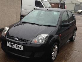 Ford Fiesta 1.2 Black 5 Door Petrol
