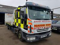 2007 IVECO EURO 4, RECOVERY TRUCK 10 TONNE, TILT AND SLIDE