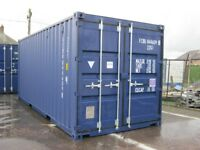 20ft x 8ft Steel Storage Shipping Container ONE TRIP ONLY £2150+VAT site storage unit scotland shed