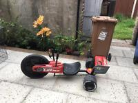 Huffy red go kart 20""