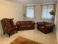 3 piece leather furniture suite