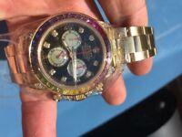 Rolex datona perpetual rainbow