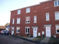 3 bed 3-storey townhouse in Wellington.Suit professional couple or family. Easy access M5(J26) & A38
