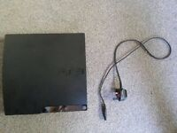 PS3 Console with power cable HD BROKEN (Spairs or Repairs)