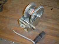 HAND WINCH FOR TRAILER OR SIMILAR, WILL PULL 600 KGS