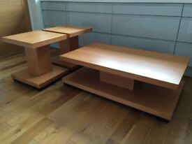 Set of 3 Contemporary Occasional Tables.