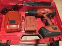 Hilti sfh22-a hammer drill driver