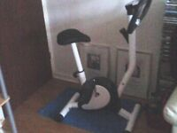 never been used exercise bike.