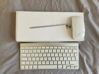 Magic Mouse & Mac Keyboard (wireless)