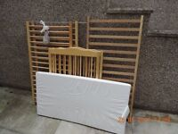 Mothercare basic cot