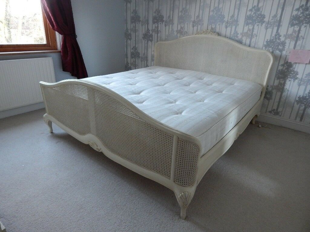 French Style Bergere King Size Bed