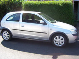 2003 VAUXHALL CORSA 1.2 SXi FOR REPAIR OR SPARES