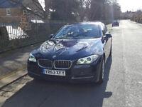 BMW 5 SERIES 520D SE 2013(63) MANUAL SALOON 4 DOORS 1 OWNER. SAT NAV. HEATED LEATHER SEATS. £30 TAX