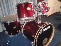 """YAMAHA YD SHELL PACK (DRUMS ONLY) FUSION SIZES 20"""" BASS DRUM"""