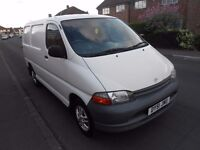 TOYOTA HIACE SWB, LONG MOT, HPI CLEAR, LOW MILEAGE, GOOD CONDITION