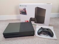 Xbox One S Military Green Special Edition 1TB Console MINT Boxed