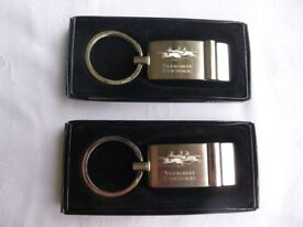 Newmarket races key rings