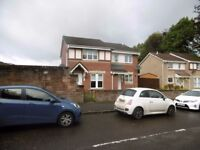NO HMO Three Bedroom Unfurnished Semi Detached Property Fullarton Avenue, Tollcross Glasgow (ACT 62)