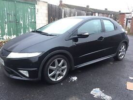 2007 Honda Civic 2.2 CTDI Diesel - Black - Long MOT