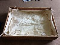underbed wicker storage basket/drawer (Ikea Degernes), £15 for SET OF 3