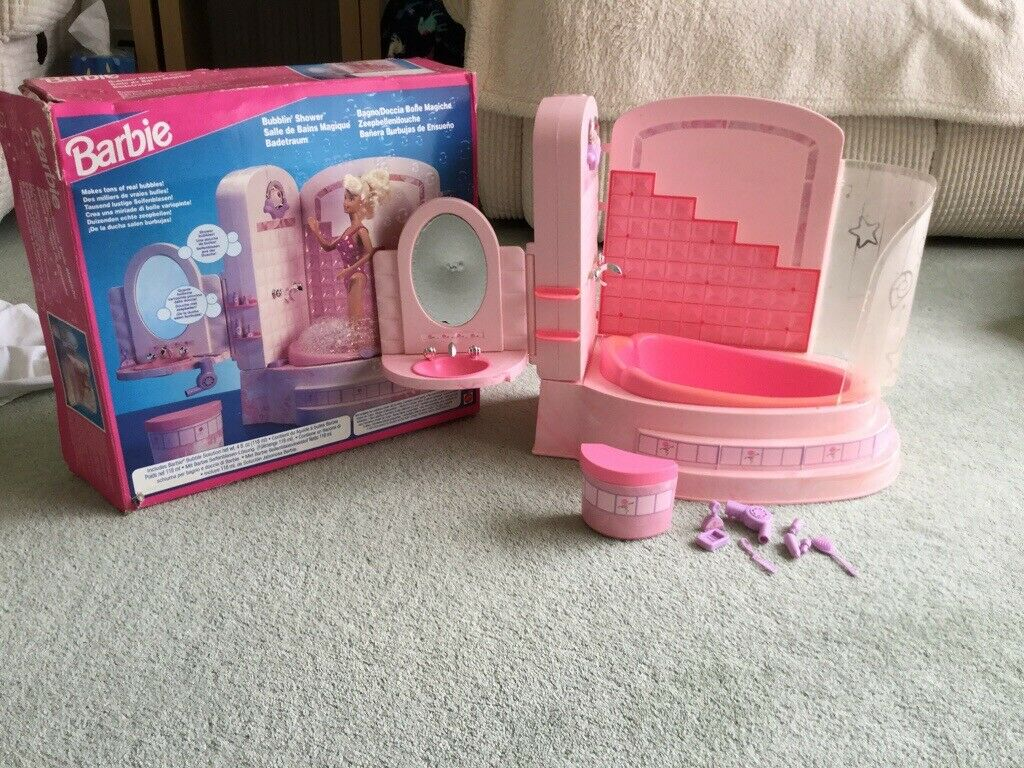 Vintage Barbie bubblin shower | in Norwich, Norfolk | Gumtree