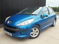 2006 (56) Peugeot 207 1.4 16v SE 5dr Panoramic Roof 12 Months MOT May PX