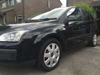 2007 FORD FOCUS LX BLACK 1.4 PETROL 5 SPEED MANUAL 5 DOOR HATCHBACK
