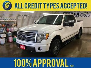 2010 Ford F-150 PLATINUM*SUPERCREW*NAVIGATION*SUNROOF*LEATHER*BA