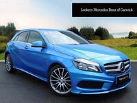 Mercedes-Benz A Class A200 CDI BLUEEFFICIENCY AMG SPORT (blue) 2014-04-23