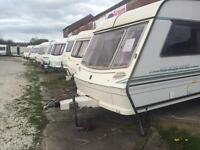CASTLEFORD CARAVANS OPEN MONDAY TO SATURDAY