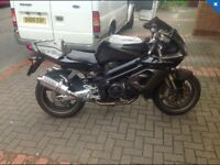 Swap Aprilia SL1000 for a Vfr 800