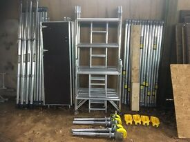 BOSS YOUNGMAN SCAFFOLD TOWER NARROW EVOLUTION 6.2M WH X 1.8M