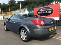 2006 56 Renault Megane Dynamique 1.6 Petrol Convertible Low Miles Immaculate
