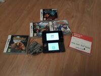 Nitendo 3ds with games as seen