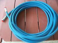 2 boyaux hydrauliques 1/2'', 3500psi, 55 & 100 pieds de long